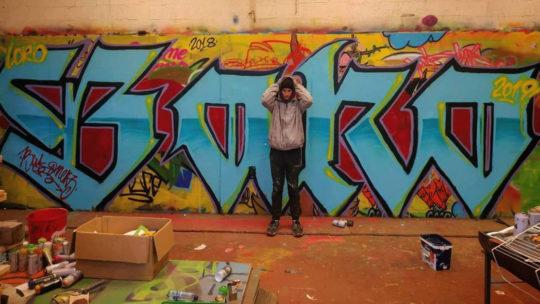 Stage de « Graff » à la bombe