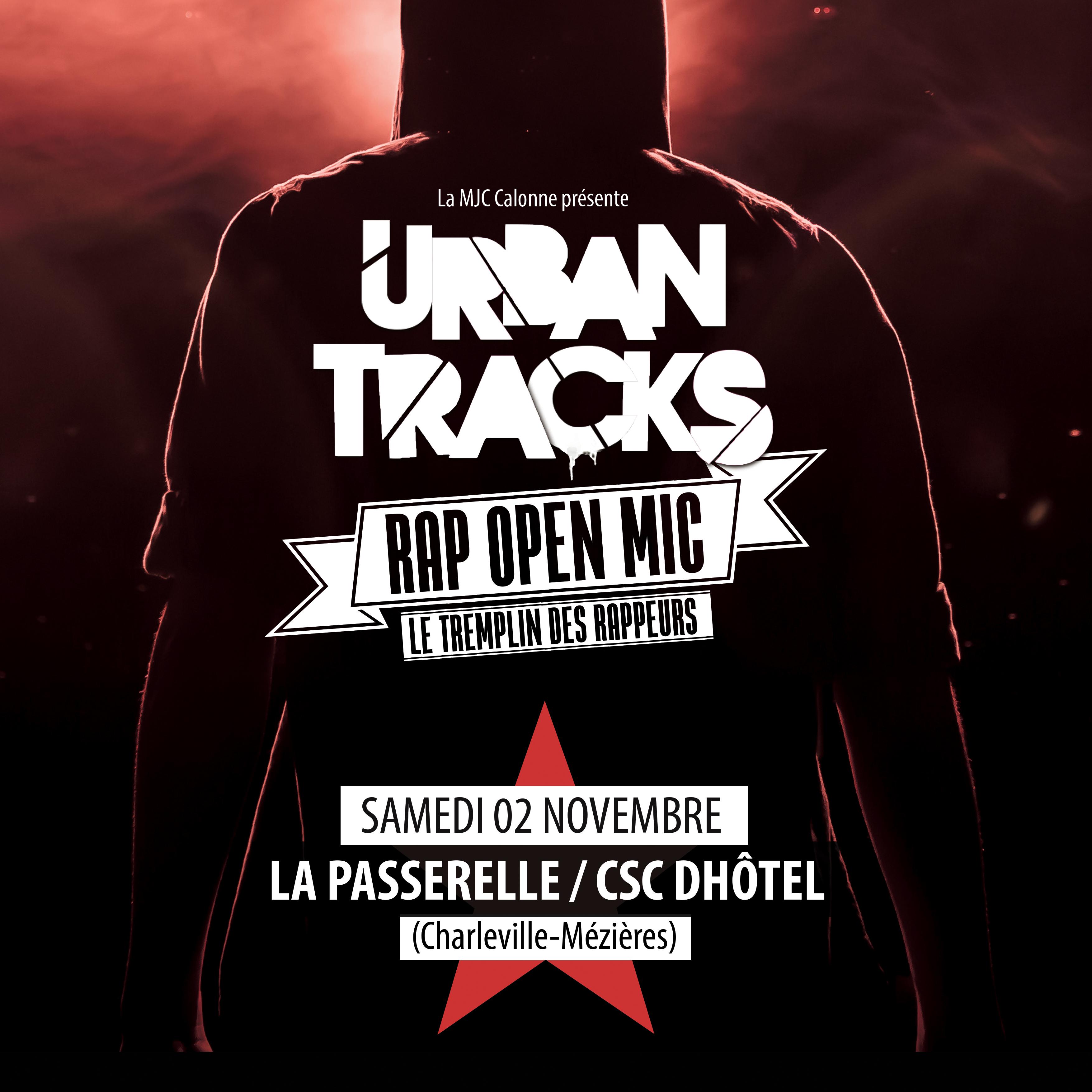 Urban Tracks – Tremplin Rap Open Mic